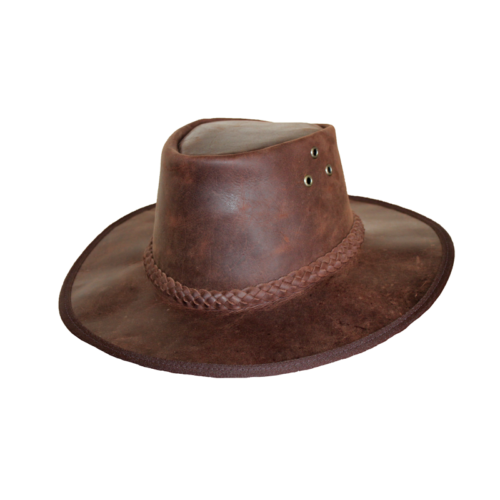 Leather-hat-front